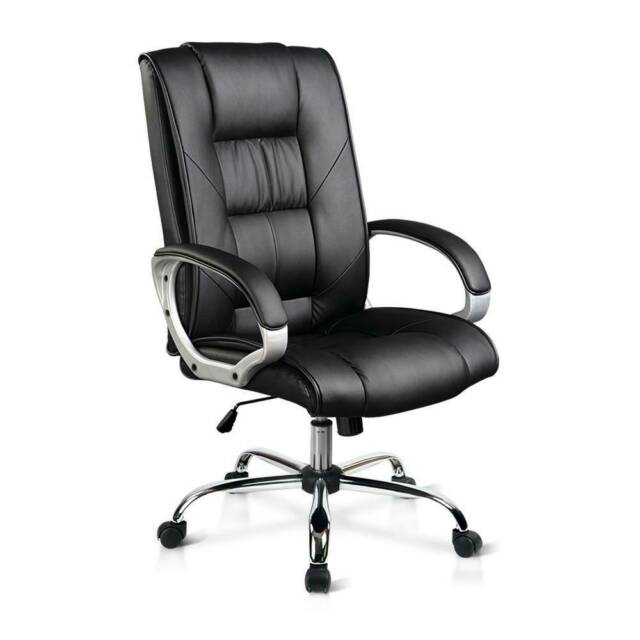 Executive PU Leather Office Desk Computer Chair