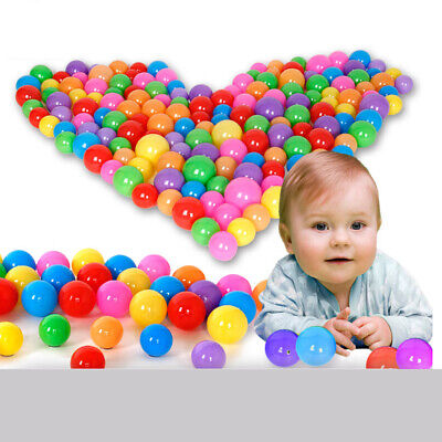 Baby Ball Pits (100pcs Quality Secure Baby Kid Pit Toy Swim Fun Colorful Soft Plastic Ocean)