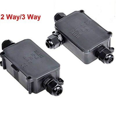 (Waterproof Junction Box Case /Electrical Cable Wire Connector Outdoor Underwater)