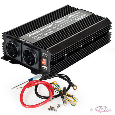 Convertisseur de tension 12 V - 230 V Onduleur 1500 3000 W Watt