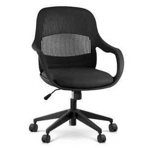 Free Delivery: Modern Office Desk Chair - Black Box Hill Whitehorse Area Preview