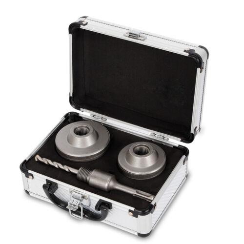3pcs Wolframstahl Beton Bohrkronen Set Ø68//80mm SDS-Plus Aufnahmeschaft 110mm DE