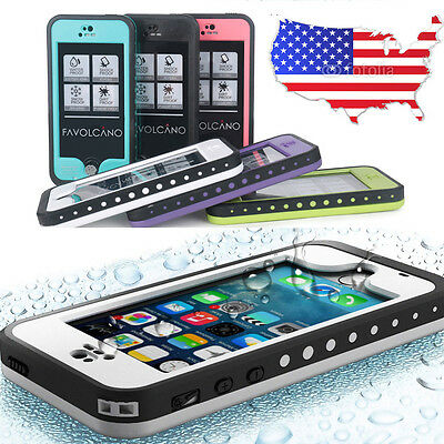 Waterproof Shockproof Dirt Proof Durable Case For Apple iPhone 4 4S 5S 6 6S Plus