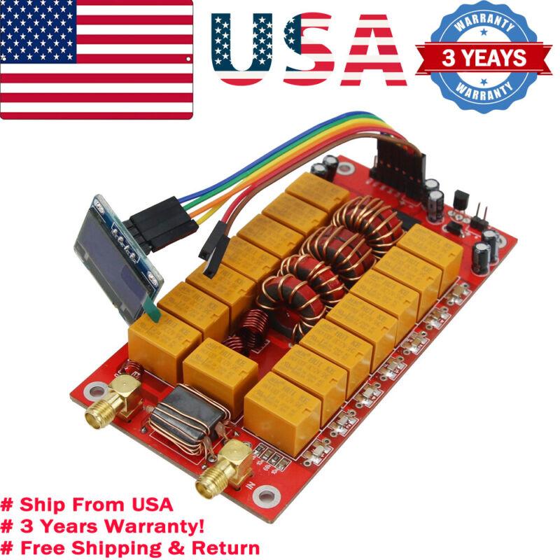 "ATU-100 Automatic Antenna Tuner Board 1.8-50MHz 100W 0.96"" OLED Hardware V3.2【US"