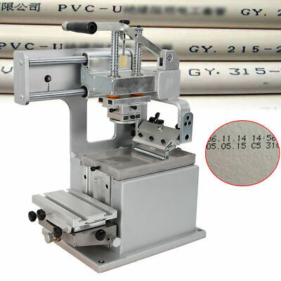 New Diy Manual Pad Printing Machine Pad Printing Kit Opened Ink Cup 8080mm Usa
