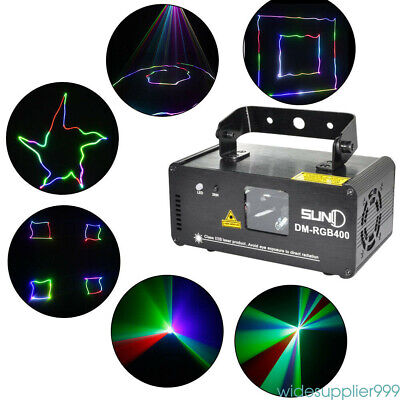 NEW DM-RGB400 Laser Stage Light DJ Home Effect Light Scan Light Party Lamp