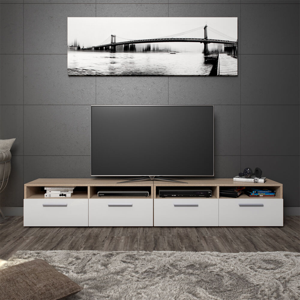 vicco lowboard set diego 180 cm fernsehtisch sideboard highboard tv board eur 69 90. Black Bedroom Furniture Sets. Home Design Ideas