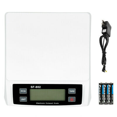 Sf-802 30kg1g High Precision Lcd Digital Postal Shipping Scale White With Adapt