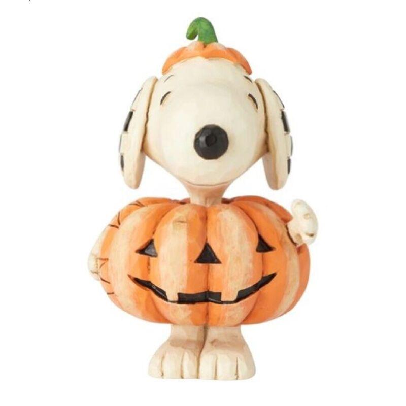 Jim Shore Peanuts Mini Snoopy Pumpkin Figurine 6002777 New Halloween