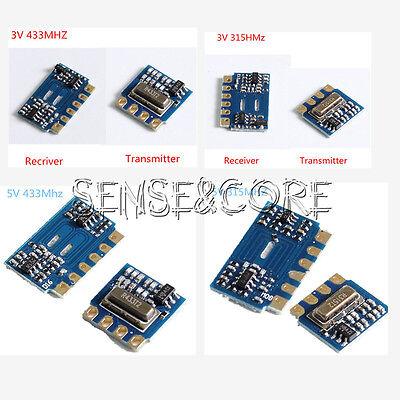 433 Mhz Mini (3V 5V 315Mhz 433Mhz MINI Funk-Sendemodul + Receiver Module Transceiver D)