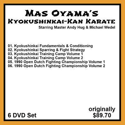 Andy Hug's Kyokushinkai-Kan Karate Serie (6 DVD