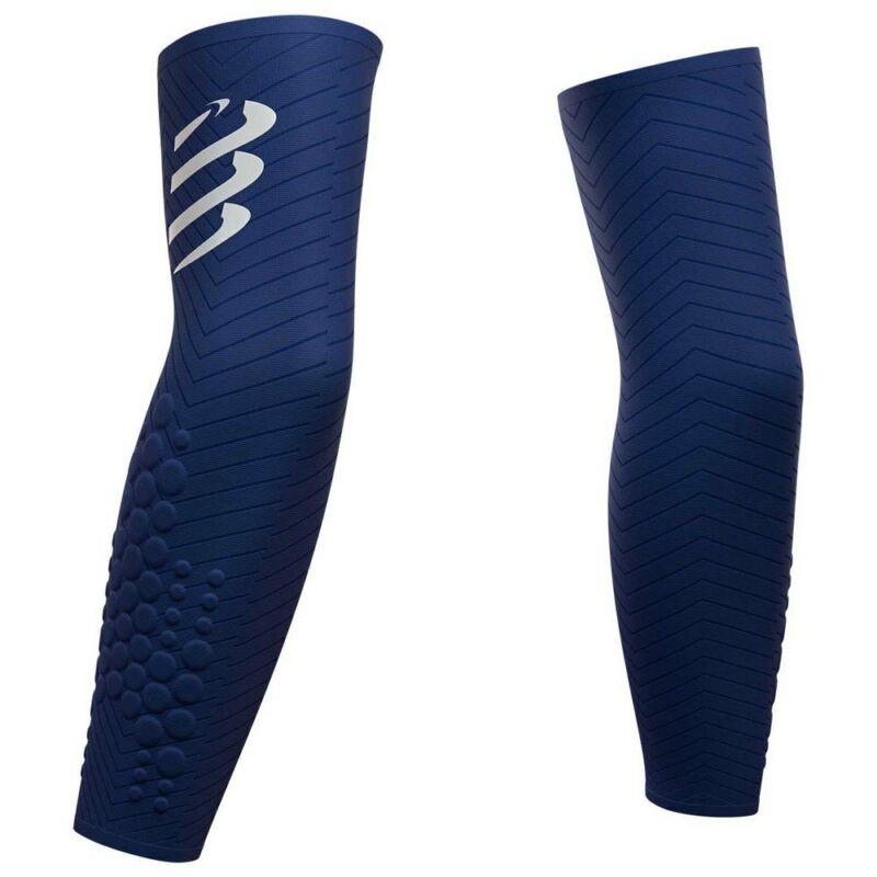 Compressport Armforce Mens Ultralight Sleeves Blue