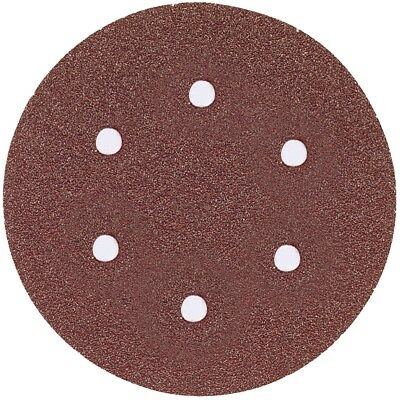 Bosch Sr6r180 6 180 Grit 6-hole Hook Loop Sanding Discs 5 Pk