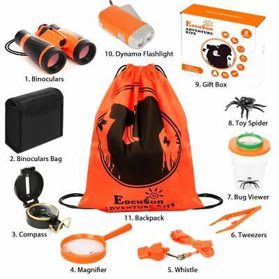 Kids Exploration Kit Outdoor Camping Hiking Explorer Tool