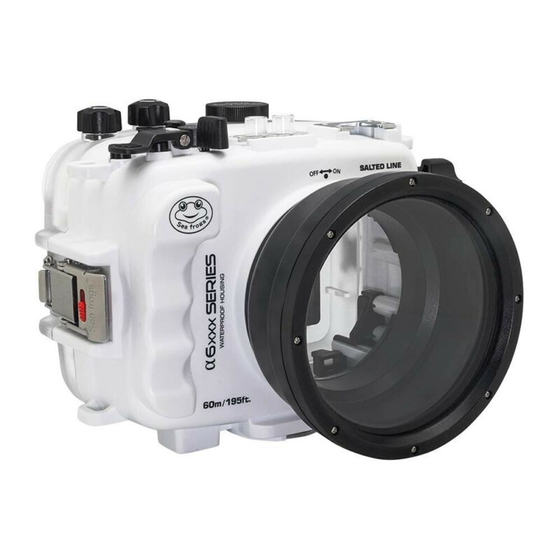 Salted Line waterproof housing for Sony A6xxx series (White) / GEN 3