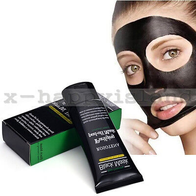 Best Deep Cleansing Black Mud Peel Clay Mask Face Blackhead Remover Acne