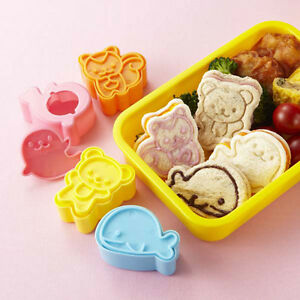 japanese bento lunch box accessories kawaii animals bread sandwich cutter. Black Bedroom Furniture Sets. Home Design Ideas