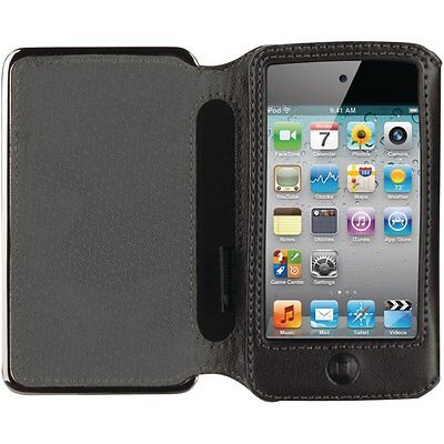 Griffin Technology Elan Passport Metal Folio for iPod touch 4G (Black) GB01951 - Griffin Leather Metal
