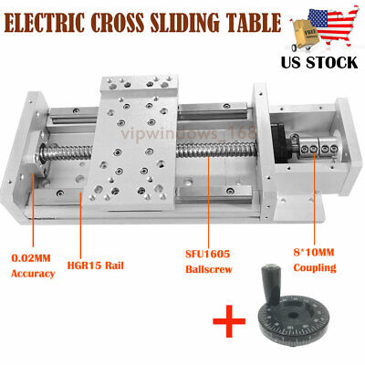 Manual Linear Rail Stage Module Cross Sliding Table Sfu1605 Motorized Xyz Axis