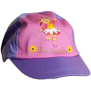 Girls-In-The-Night-Garden-Upsy-Daisy-Sun-Hat-Peak-Cap-Pink-Lilac-1-3yrs