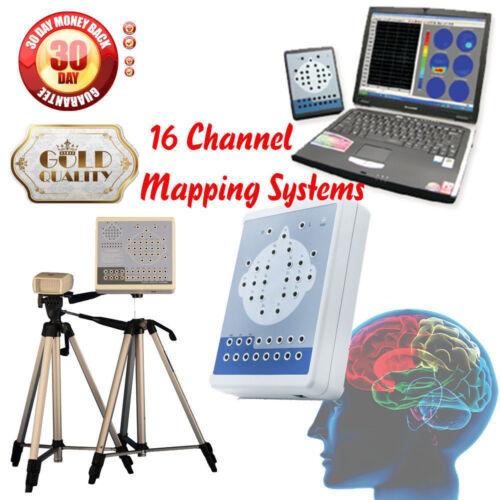 Digital Portable EEG Machine Digital Brain Electric Activity Mapping 16 Channel