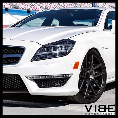 20  Niche Targa Machined Concave Wheels Rims Fits Benz R230 Sl500 Sl550 Sl55