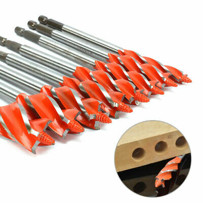 8Pcs Four Slot Drill Bit Blade Auger Set for Wood Working Tool 10mm~25mm New, used for sale  Shipping to Canada