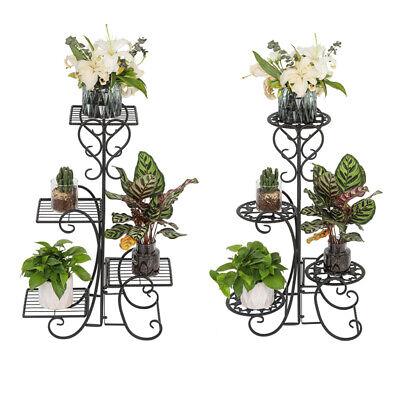 Hot Metal Shelf Flower Pot Plant Stand Display Indoor Outdoor Garden Patio Garden Décor