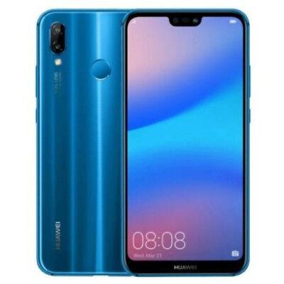 """HUAWEI P20 LITE AZUL SMARTPHONE 5.8 """"64GB / 4GB DUAL SIM - NOVO GARANZ."""