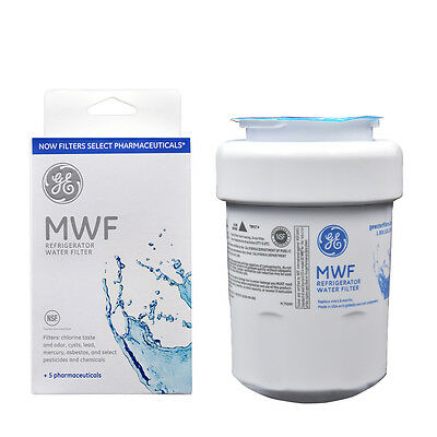 1 Pack Ge Mwf Mwfp 46 9991 Gwf Hwf Wf28smartwater  Fridge Water Filter New Oem