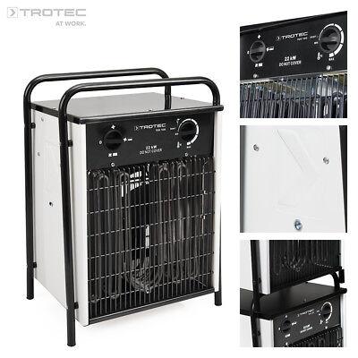 TROTEC TDS 100 Calefactor eléctrico portátil, Aerotermo, Generador con 22 kW