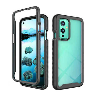 SDTEK Case for OnePlus 9 Strong Rugged Hybrid Anti Shock Cover