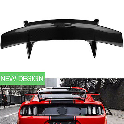 Real Carbon Fiber Car Tail Boot Spoilers Wings for Ford Mustang 2015/2016/2017