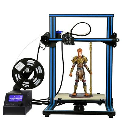 Reach-me-down 3D Printer CR-10 Prusa I3 Pre-assembled Aluminum Large Size 300x300x400mm