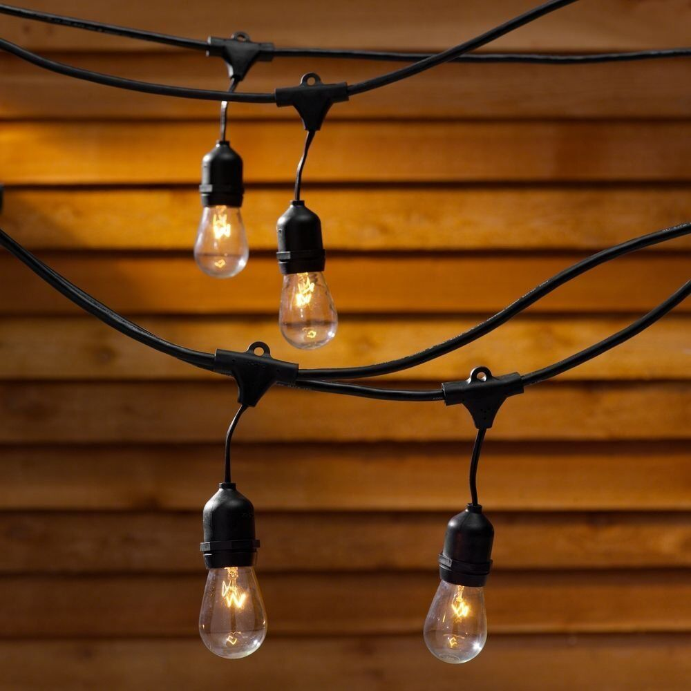 Outdoor Party Lights Screwfix: Outdoor Vintage Retro Style LED Festoon Party Lights Fairy