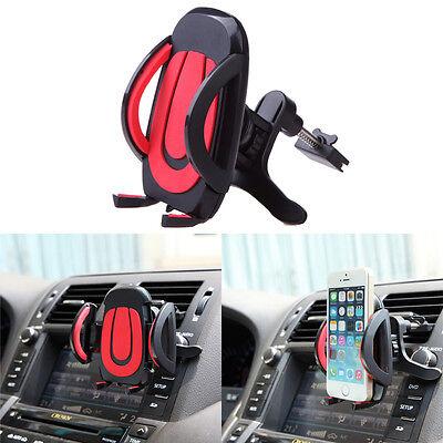 360° Car Air Vent Mount Cradle Holder Stand For Apple Samsung Smart Phone GPS