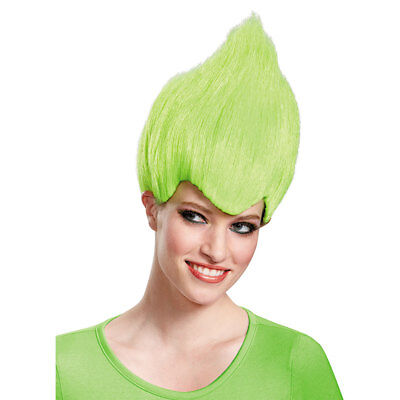 Green Costume Wigs (Adult Green Wacky Troll Costume)