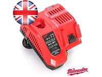 Milwaukee Combi M12-18 volt Rapid 2019 Brand New Latest Model 240 wall Charger