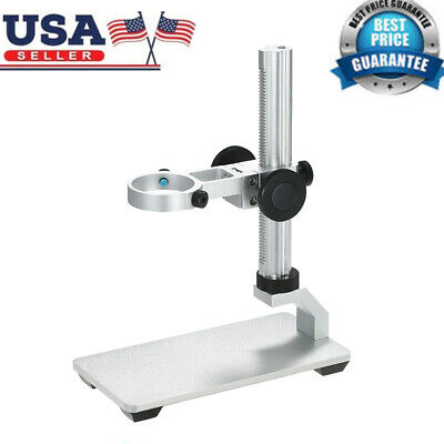 Usb Digital Holder Microscope Stand Support Bracket Adjust Up And Down 1pcs A7r3