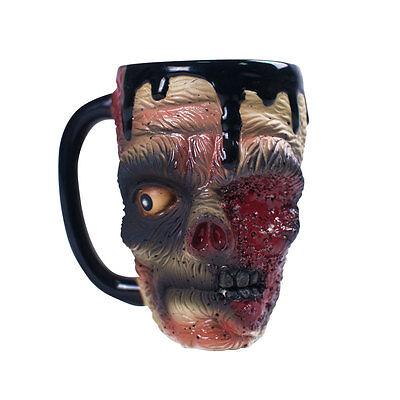 Zombie Coffee Mug Cup 3D Design Halloween Office Horror Film Walking Dead
