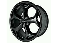 "LATEST 18"" FORD FOCUS ST ALLOY WHEELS NEW X4 BOXED 5X108 MONDEO SMAX CMAX CONNECT VAN ESTATES"