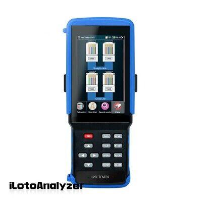 4k H.265 Cctv Tester Monitor Ahd Cvi Tvi Analog Cvbs Ip Camera Tester Ipc-9310s