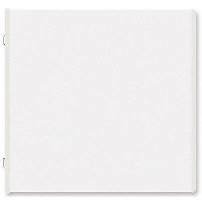 "Creative Memories Scrapbooking Album 15 Nachfüllseiten Refill 12""x12"" weiß NEU"