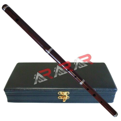 """Irish Professional Tunable D Flute with Hard Case 23"""" Length 3 Pcs New Brand AAR"""