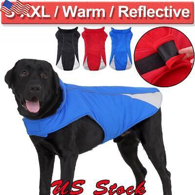 Dog Winter Coat Pet Waterproof Clothes for Dogs Rain Snow Jacket Pitbull