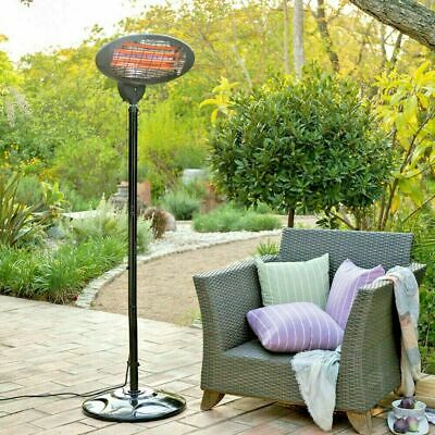 PRO ELEC Patio Garden Outdoor 2kW Free Standing Infrared Patio Heater