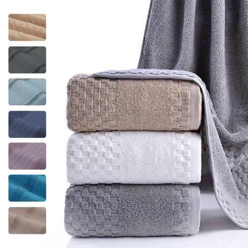 Luxury Large Bath Towel 100% Cotton Sheet Absorbent 600GSM B