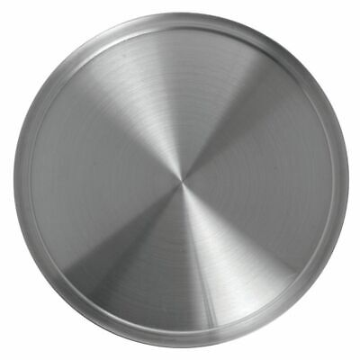 Hubert Pizza Pan With Wide Rim Round Aluminum - 20 Dia