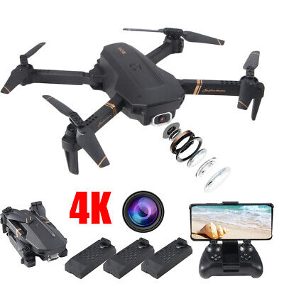 2020 New Mini RC Quadcopter Drone 4K GPS HD Camera WIFI FPV UAV Aerial Photograp