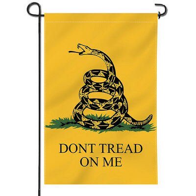 Anley Dont Tread On Me Garden Flag Decorative  Flags Double Sided 18 x12.5 Inch - Flag Decorations